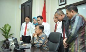 Wakil presiden bayar pajak onlne